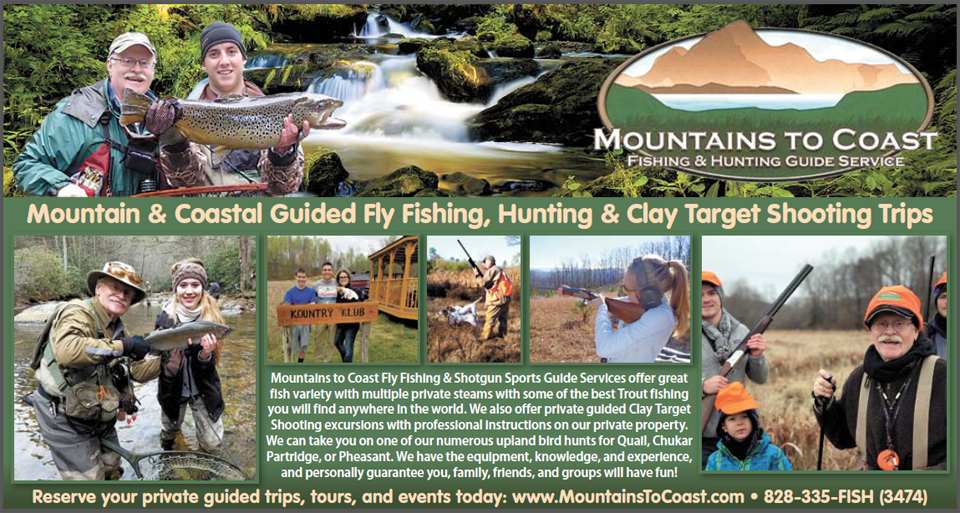 Fly Fishing Boone, NC Mountains Fly Fishing & Hunting Guide Service