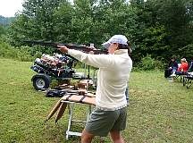 Boone NC Mobile Sporting Clay Target Shooting
